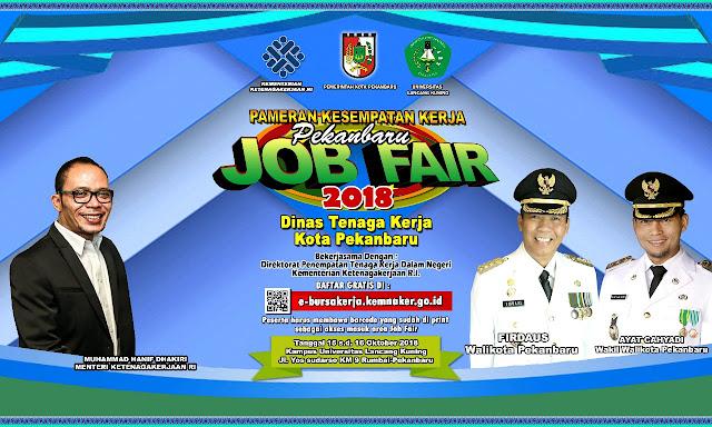 Job Fair Pekanbaru Riau 2018 (Gratis)