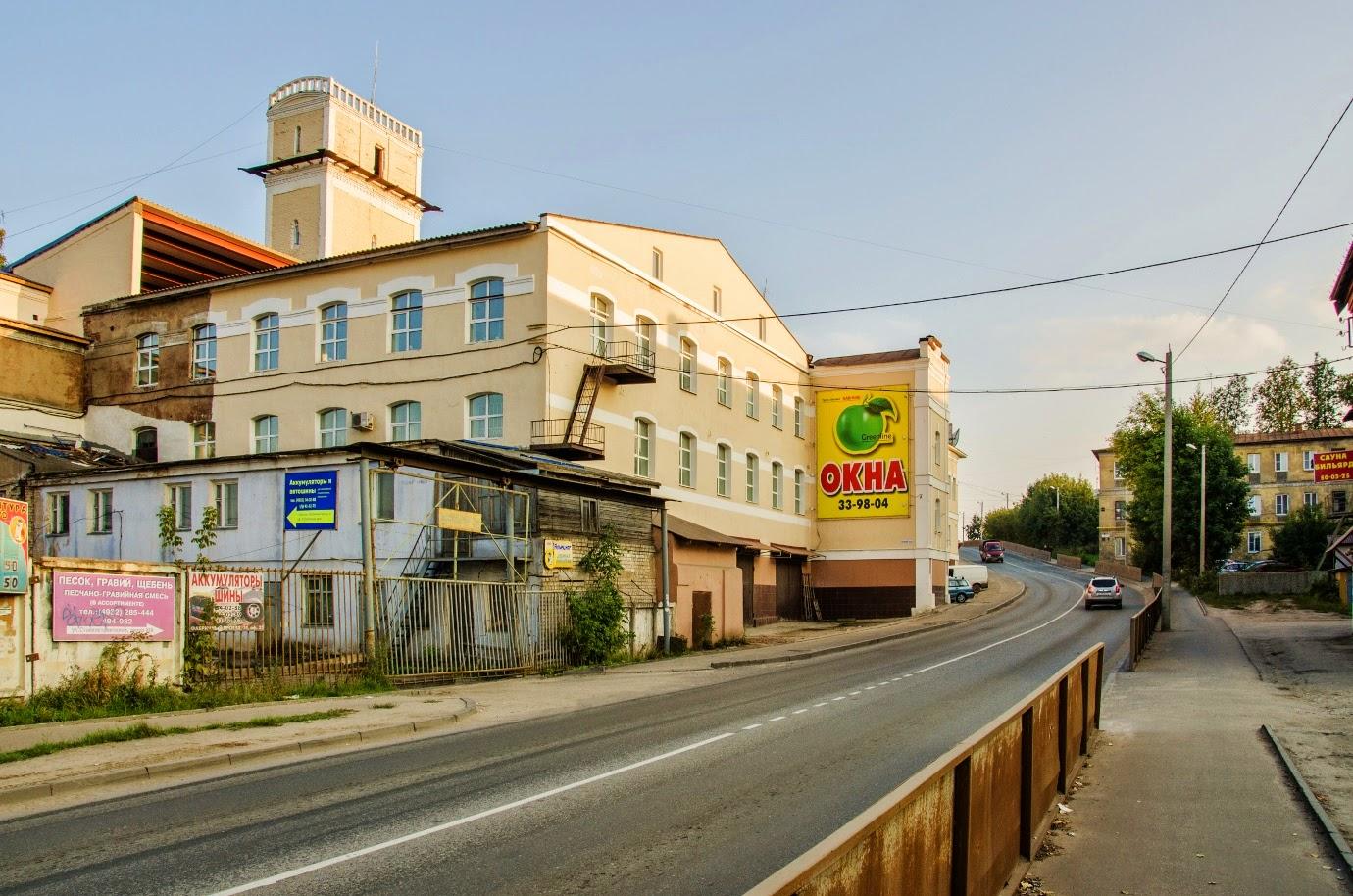 Фабричный проезд. Иваново.