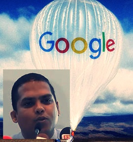 Ten million public funds gone astray because of Google Loon!