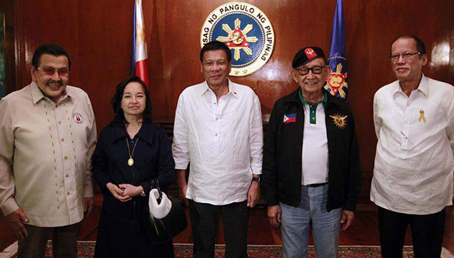 The Presidents of the Philippines: Estrada, Arroyo, Duterte, Ramos and Aquino