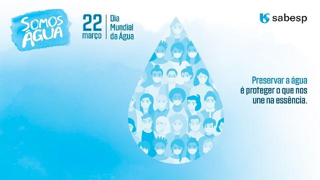 Sabesp comemora o Dia da Água com programação digital especial