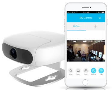 SANSCO Wireless Network Two Way Talk IP Camera / Baby Monitor