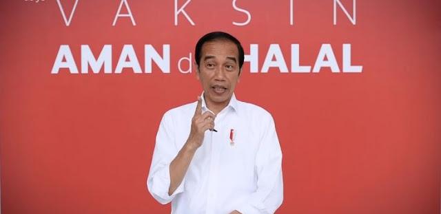 Pas Disuntik Vaksin Covid Jokowi Enggak Terasa, Dua Jam Kemudian Baru…