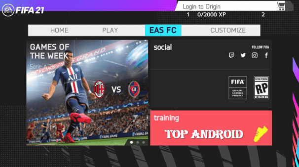 FIFA 21 Mobile Android Offline 700 MB Best Graphics