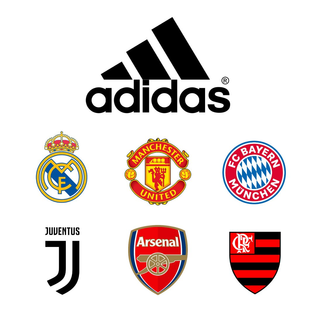 1579dc1d940e Premium Football Clubs of Adidas