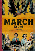 March: Book One by John Lewis, Andrew Aydin, Nate Powell.