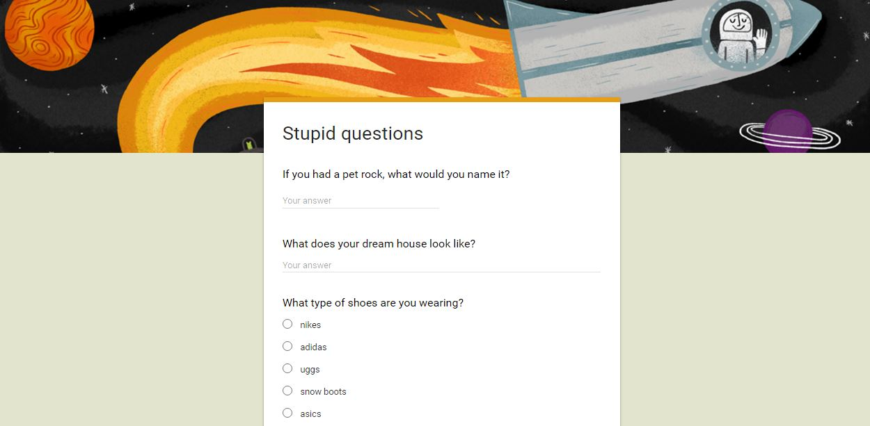 LebanTeachTech com: Stupid Questions: How To Teach Google Forms to
