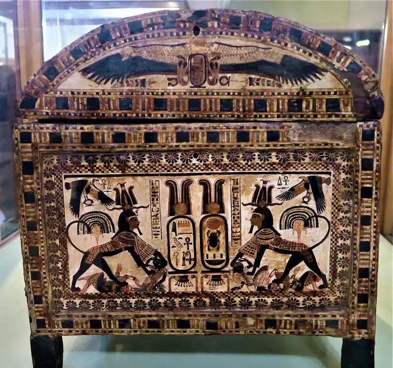 Tutankhamun's Casket