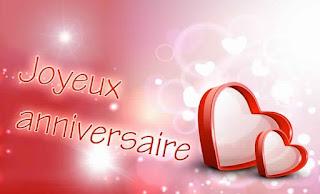 Texte d'amour joyeux anniversaire mon amour