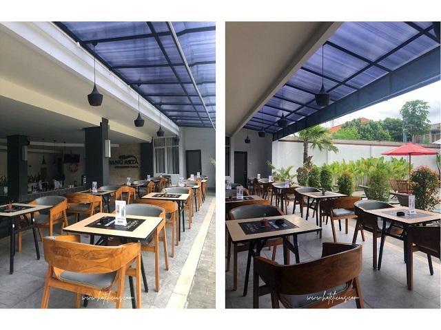Poolside Semi-Outdoor Hotel Aveon Yogyakarta