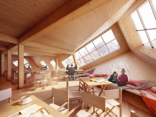arquitetura, hotel cubo, hotel futurístico, Kežmarské Hut, DESIGN, arte urbana, fotografia, Atelier 8000, Tatra, Eslováquia,