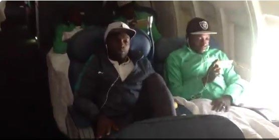 Photos of Nigeria U-23 Eagles on their way to Rio 2016 Olympics