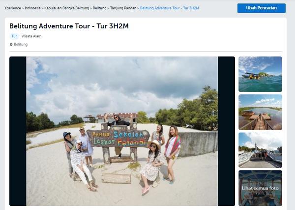 Belitung Adventure Tour - Tur 3H2M Traveloka Xperience Bangka Belitung