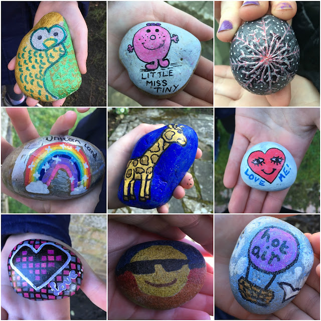 examples of decorated kindness rocks