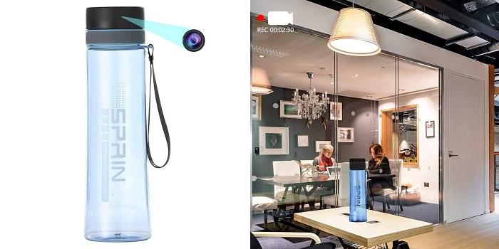 Water Bottle Spy Cam