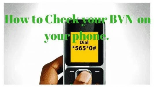 How To Check Your Bank Verification Number (BVN) From Your Phone