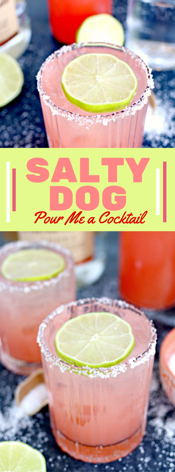 Salty Dog Cocktail #drinks #vodka