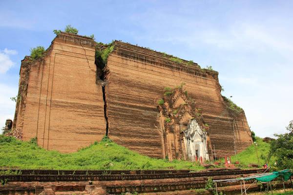 Mingun Pahtodawgyi: la estupa incompleta de Mingun
