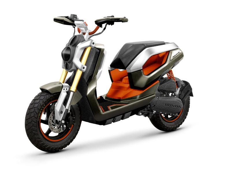 otomotif indonesia zoomer x tampilan skutik baru pabrikan honda. Black Bedroom Furniture Sets. Home Design Ideas