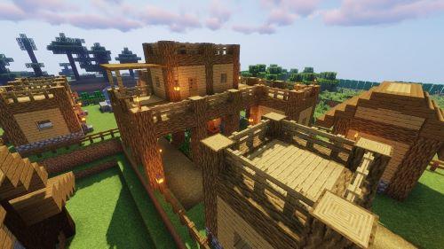 Game thủ vẫn dường như tiện lợi mở rộng một ngôi làng đã đc kết nối