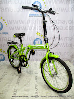 20 Inch Evergreen X8 6 Speed Folding Bike