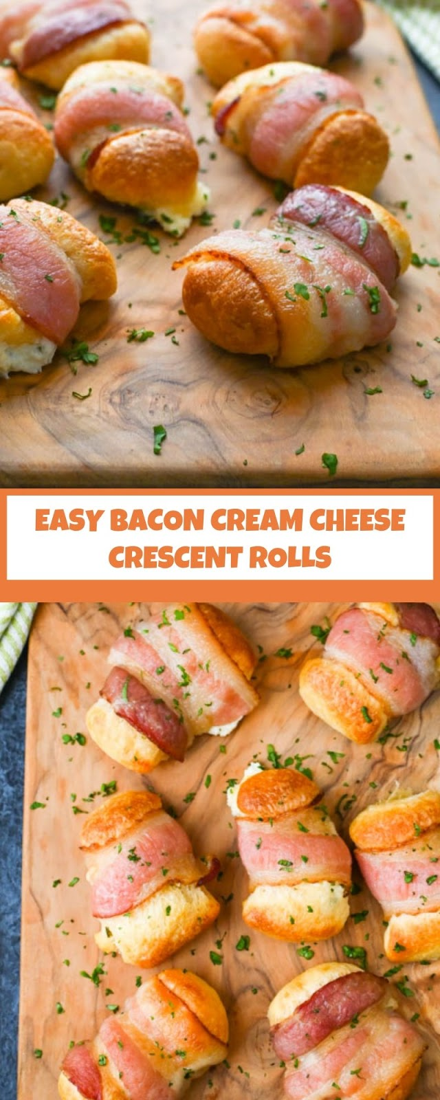 EASY BACON CREAM CHEESE CRESCENT ROLLS