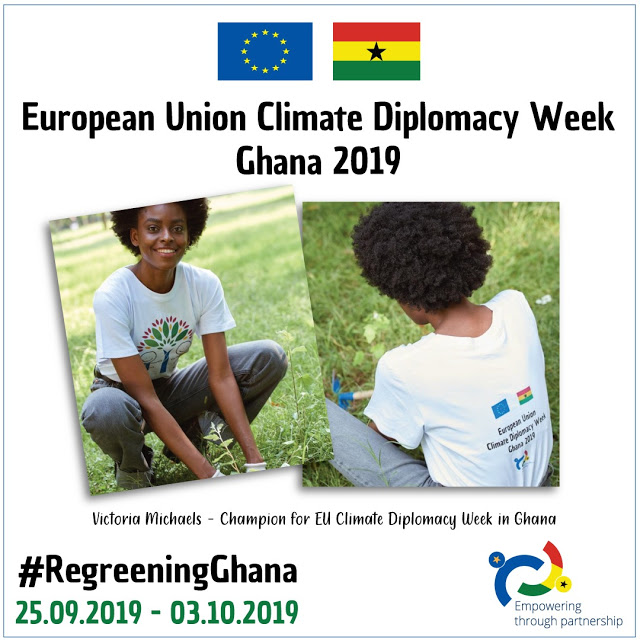 Victoria Michaels Is Champion Of The Environment For The European Union Ghana