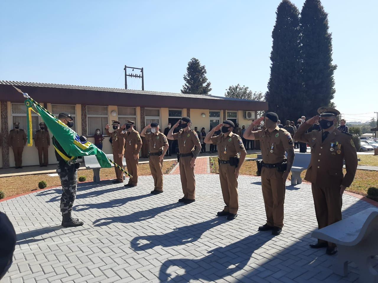 Dia de Comemoração Ao Aniversário do 166º da Polícia Militar do Paraná