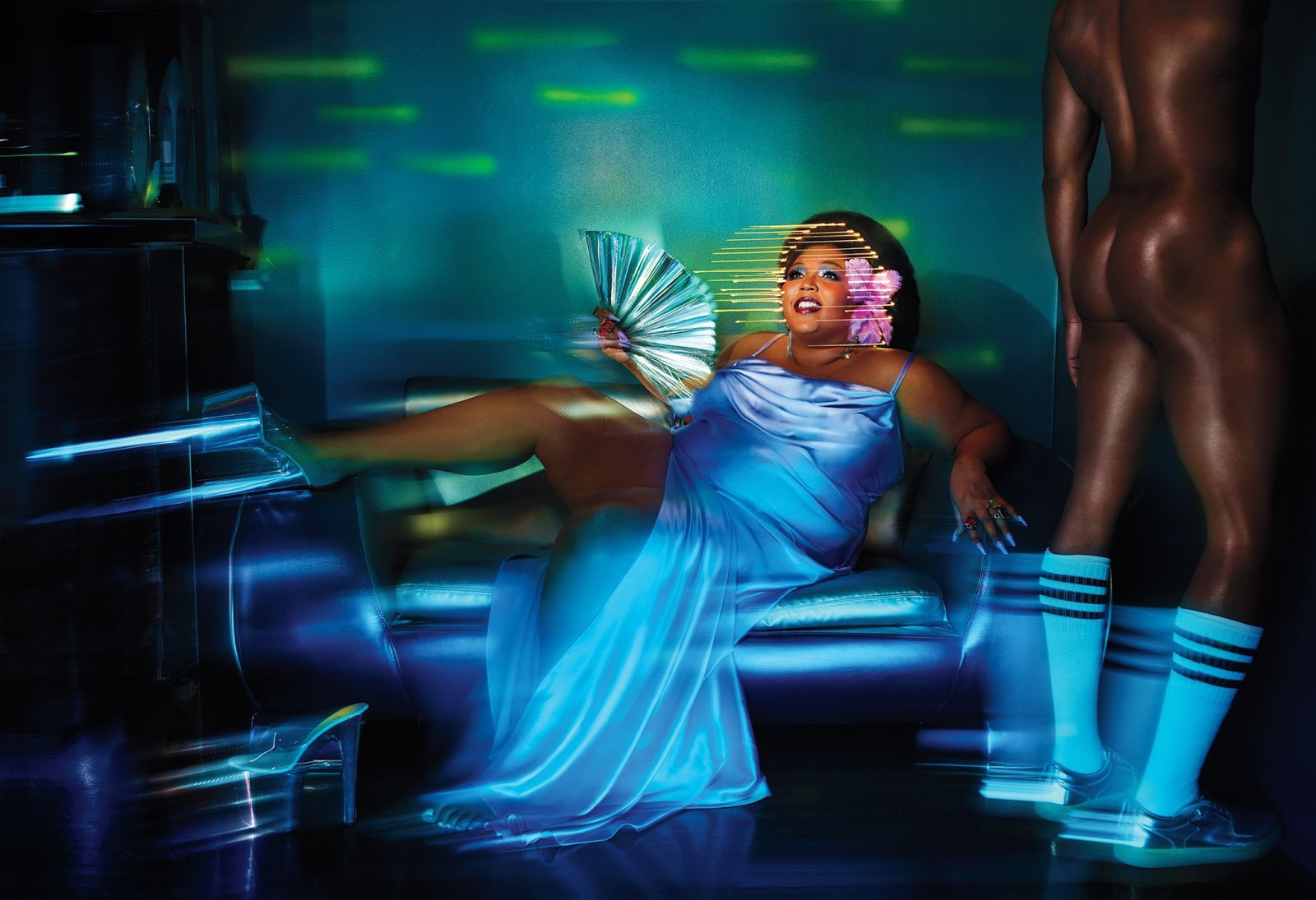 Lizzo for ROLLING STONE, photographed by David LaChapelle