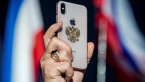 Apple offers apps that have been approved by the Russian government
