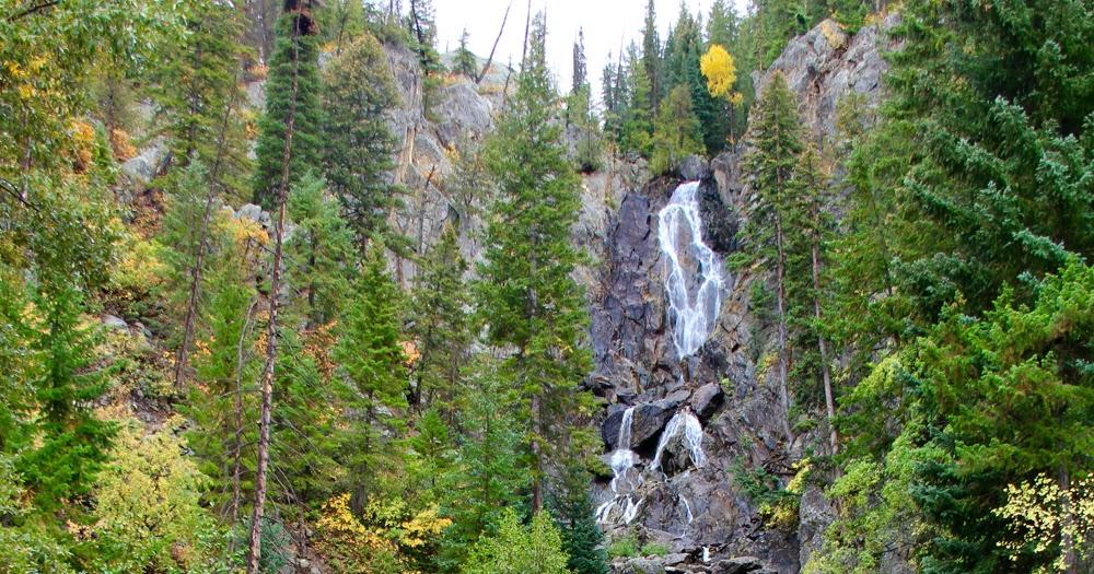 Colorado lifestyle fish creek falls lower and upper for Fish creek falls