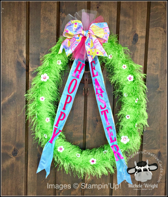 Easter, Wreath, Large Letter Framelits Die, Egg