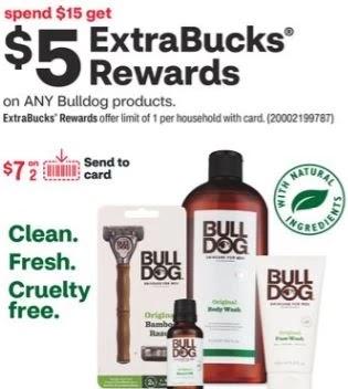 FREE Bulldog Razor & Refill CVS Deals