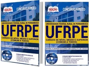 apostila Concurso UFRPE 2018 cargos Técnico, nível Médio e Superior