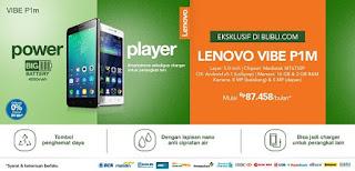 Promo Lenovo Vibe P1m di Blibli