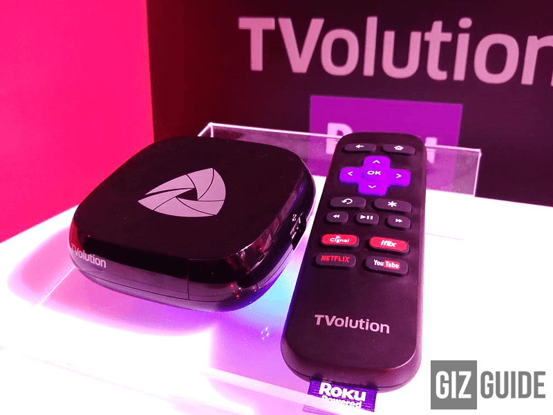 PLDT's Roku Powered TVolution Steaming Box Now Official