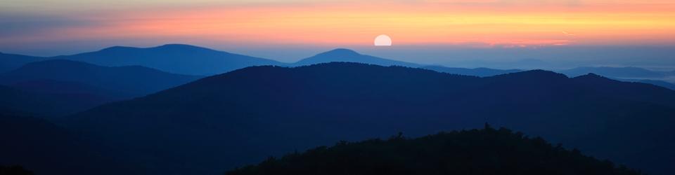 Blue Ridge Sunrise by Larry W. Brown