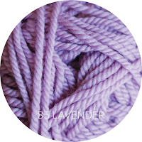 Ewe Ewe Yarns Wooly Worsted color 85 Lavender
