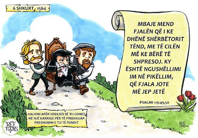 Gjon Kalvin, predikimi,