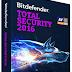 Bitdefender Total Security 2016 +  Serial Key