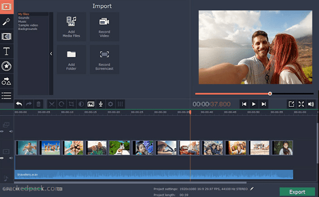 Movavi Video Editor Plus 20.0.1 x86/x64 Repack - Phần mềm chỉnh sửa video miễn phí