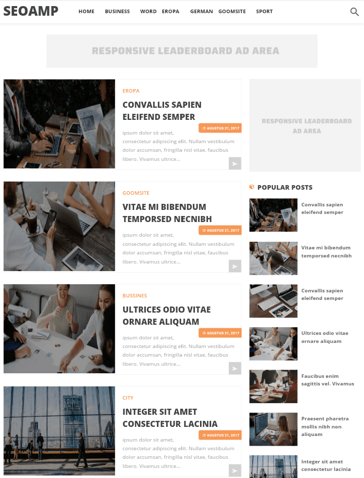 SEO-AMP-Blogger-Template