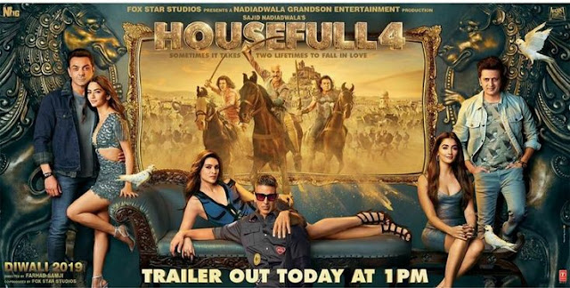 Housefull 4 Bollywood Movie (2019) 720p,1080p Download