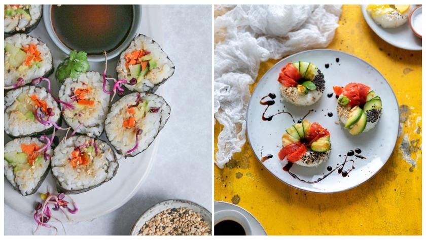 veganes Sushi mit Tuna
