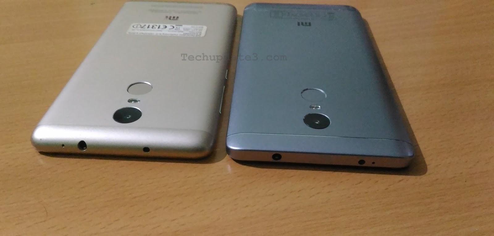 Xiaomi Redmi Note 4 Snapdragon 625 Vs Xiaomi Redmi Note