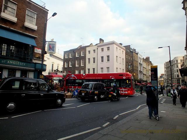 calles y vida en Londres