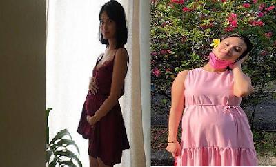 7 Foto Vanessa Angel Tetap Cantik di Usia Kehamilan 6 Bulan