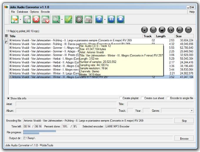 Jolix Audio Converter