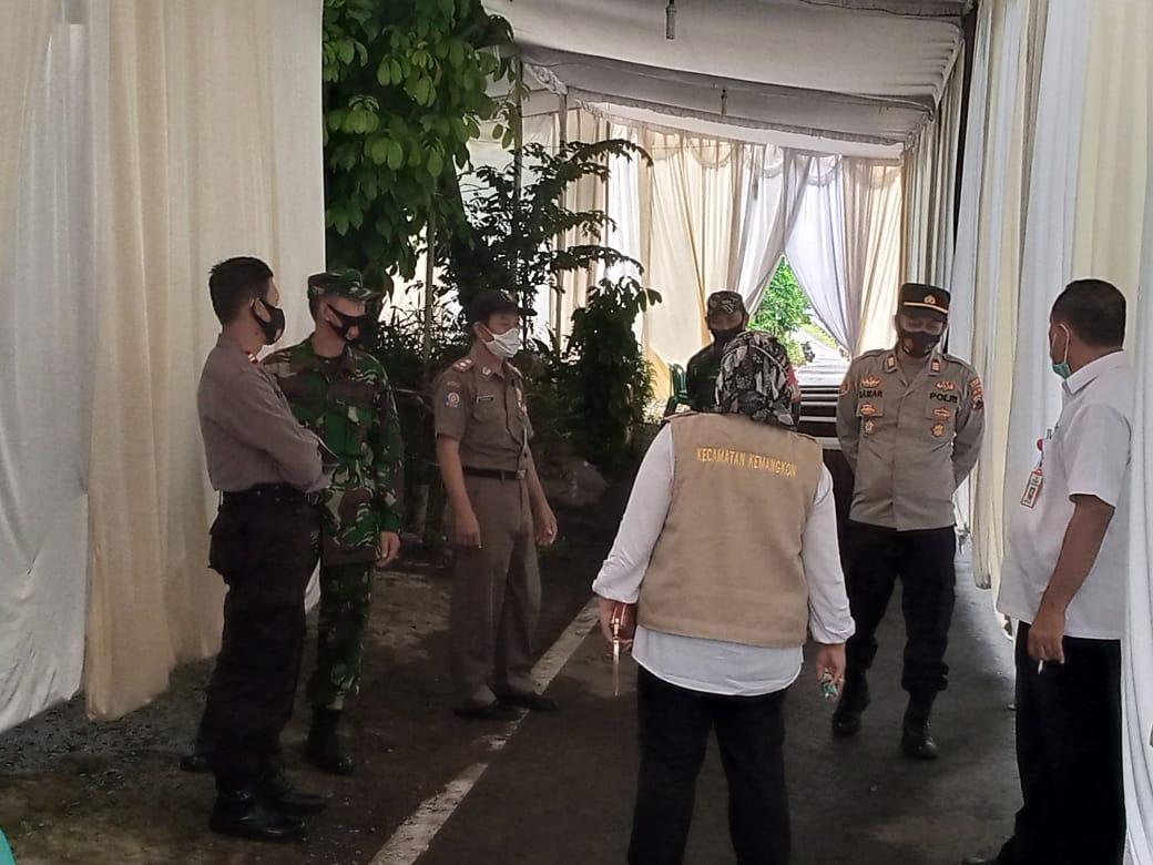 Lagi, Tim Satgas Covid-19 Kecamatan Kemangkon Temukan Dua Lokasi Hajatan Melanggar PPKM