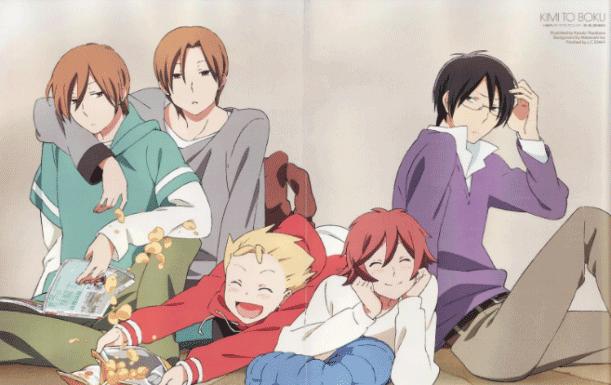 Kimi to Boku - Daftar Anime Romance School Terbaik Sepanjang Masa
